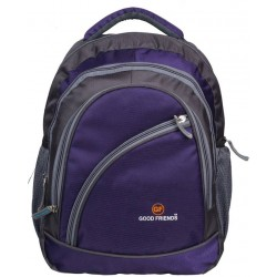 School Backpack 35 LTR Purple Polyester