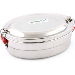 Stainless Steel 1 Containers Lunch Box 500 ml