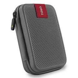 Double padded 2.5-inch external hard drive case (Gray)