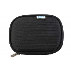 External hard disk protector pouch cover for hard drive - (Black)