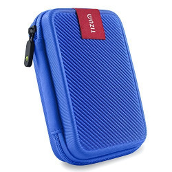 2.5 inch External hard drive case, Double padded (Blue)