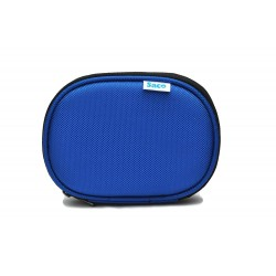 External hard disk protector pouch cover for hard drive - (Blue)