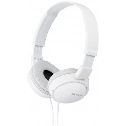 On-ear stereo headphones (White)