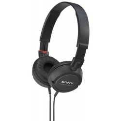 On-ear stereo headphones (Black)