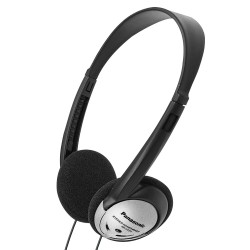 On-ear stereo headphones (Black & Silver)