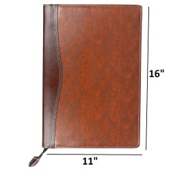Executive files & folders B4 with 20 leafs Leatherette