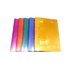 Laminated cobra file  Pack of 5 Multicolour
