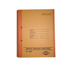 Special deluxe cobra spring file post binder 35 Cms X 25 Cms X 4 Cms Pack of 8 pcs