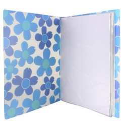 Clear plastic cover Files 60 pockets A4 Size