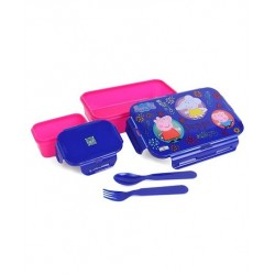 Lunchbox Plastic Clip Lock With Extra 1 small container