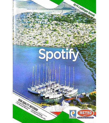 Long book A4 160 pages Single line Ruled Pack of 12