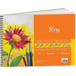 Drawing book A3 225 gsm 15 sheets