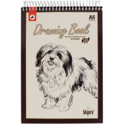 Drawing book A5 140 gsm 50 sheets Natural cartridge paper