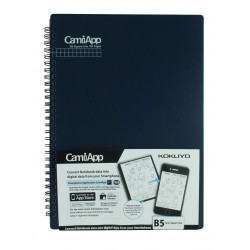 Graphbook  B5 size Square line