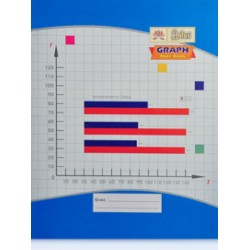 Graphbook 20 X 26 cms 64 pages Pack Of 3