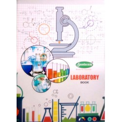 Laboratory Book Big  75 pages A4  (21.5 X 28 Cms) 1 pics