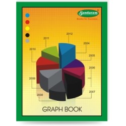 Sundaram Graphbook 21.5 X 28.5 cms size 56 pages
