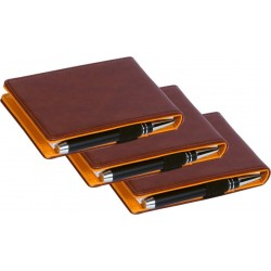 Note pad Pocket-size Unruled 55 pages Pack of 3 Case bound