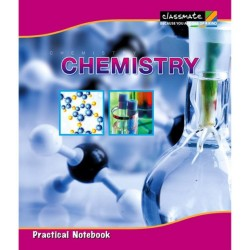 Practical book chemistry 22 x 28 cms 180 pages