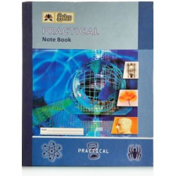 Pratical book 20 x 26 cms 96 pages Pack of  3