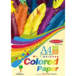 Craftpaper A4 75 gsm 200 sheets Multicolour