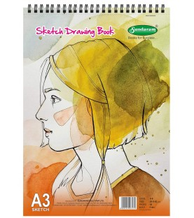 Sketch Drawing Book A3 36 Pages Sundaram