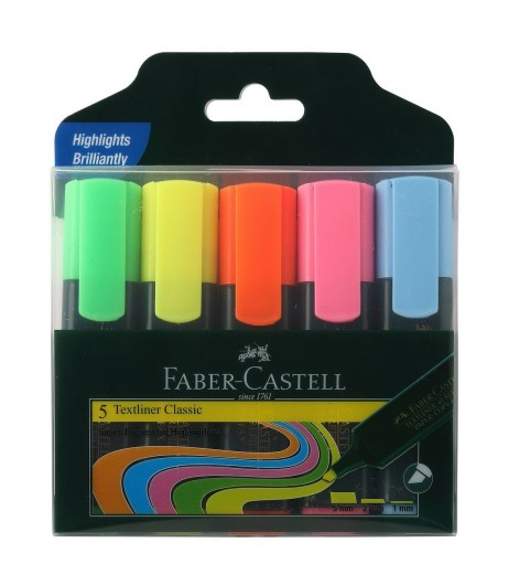Highlighter Assorted Pack of 5