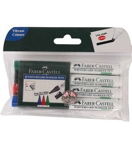 Marker Whiteboard Assorted Pack of 4