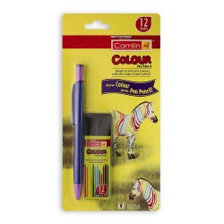 Colour Pen Pencil 1 Nos. with l with 12 Lead Tube of 2 mm