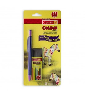 Colour Pen Pencil 1 Nos. with l with 12 Lead Tube of 2 mm Diameter
