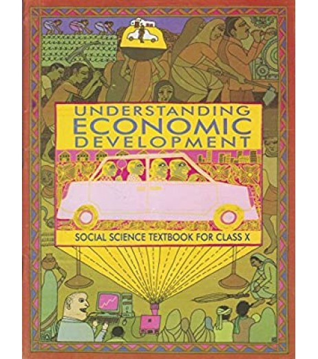 Understanding Economic Development - Economic english Book for class 10 Published by NCERT of UPMSP