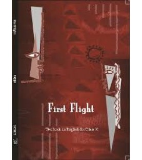 First Flight - English Text Book for Class 10 Published by NCERT of UPMSP