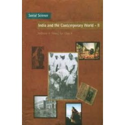 India & Contemporary World II - History english book for