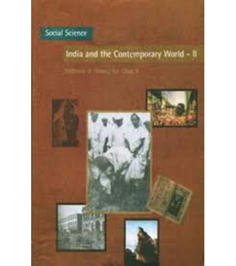 India and Contemporary World II - History english book for class 10  Published by NCERT of UPMSP