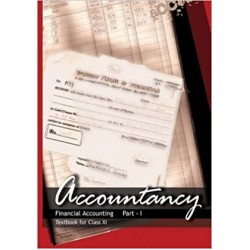 Accountacy Part 2 English Book for class 11 Published by