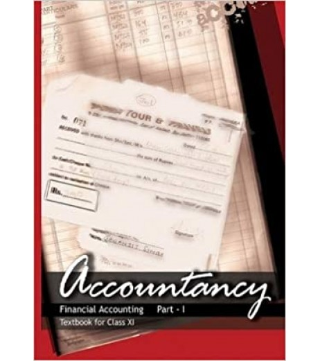 Accountacy Part 2 English Book for class 11 Published by NCERT of UPMSP