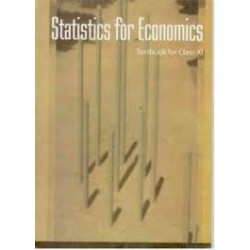 Economics Statistics English Book for class 11 Published by