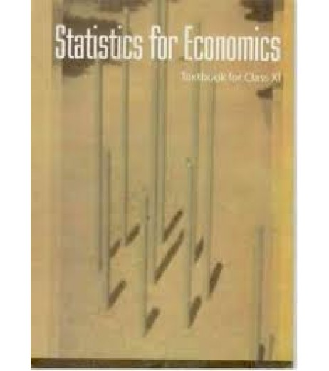 Economics Statistics English Book for class 11 Published by NCERT of UPMSP