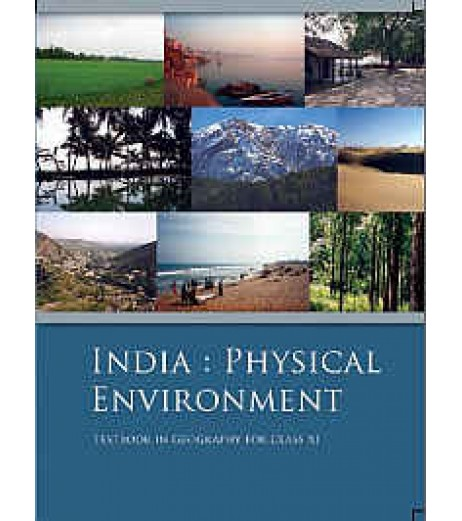 India Phyiscal Environment English Book for class 11 Published by NCERT of UPMSP