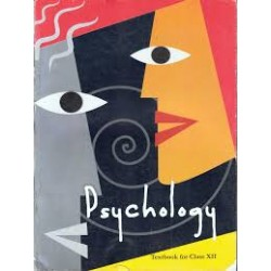 Psychology English Book for class 12 Published by NCERT of