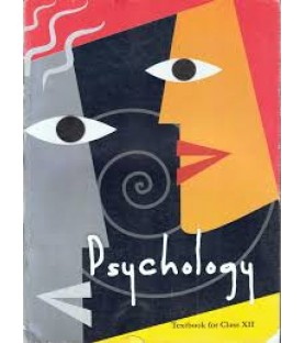 Psychology English Book for class 12 Published by NCERT of UPMSP