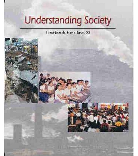 Understanding Society Part 2 English Book for class 11 Published by NCERT of UPMSP