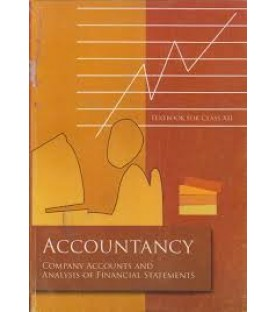 Accountancy I english Book for class 12 Published by NCERT of UPMSP