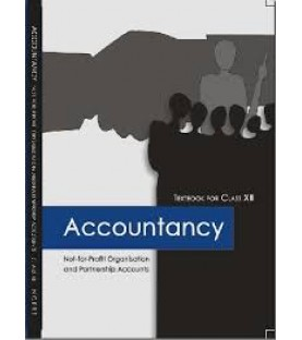Accountancy III English Book for class 12 Published by NCERT of UPMSP