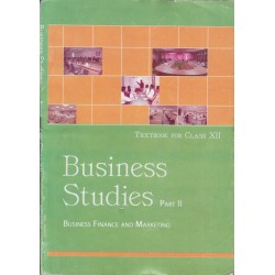 Business Studies II english Book for class 12 Published by