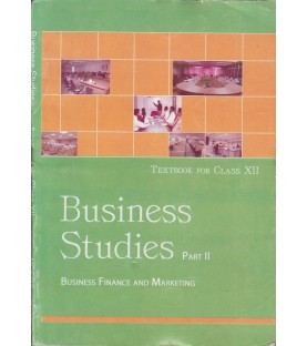 Business Studies II english Book for class 12 Published by NCERT of UPMSP