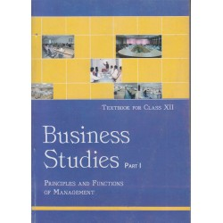 Business Studies I english Book for class 12 Published by