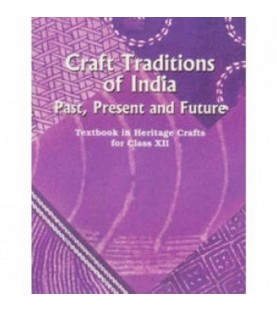 Craft Tradition of India Textbook in Heritage Craft English Book for class 12 Published by NCERT of UPMSP