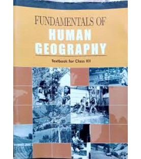 Fundamentals of Human Geogrophy English Book for class 12 Published by NCERT of UPMSP