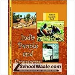 India People and Economy English Book for class 12